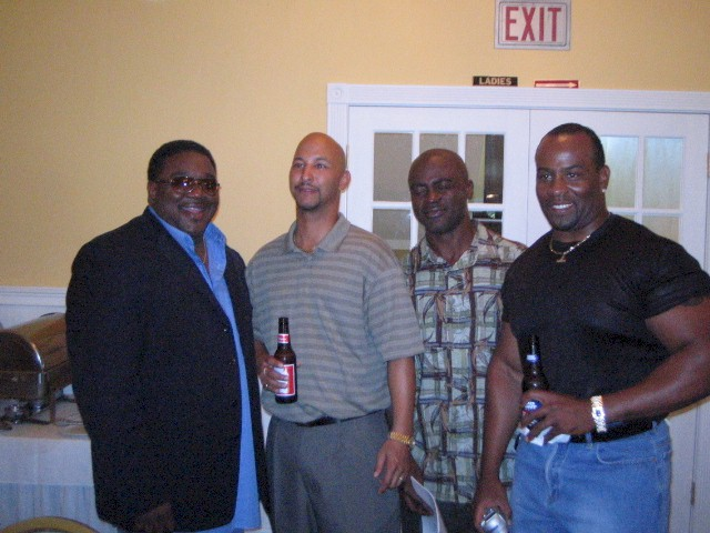 Derrick Jackson, Tracy Ransom, Tim Hammond, and Eric Fitts
